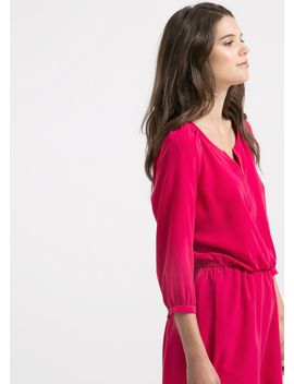 elastic-waist-dress by mango
