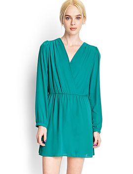 surplice-woven-dress by forever-21