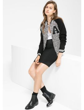 knit-varsity-jacket by mango