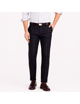 ludlow-suit-pant-in-black-watch-english-wool by jcrew