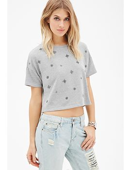 boxy-beaded-sweatshirt by forever-21