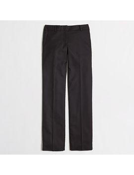 wool-flannel-wide-leg-trouser by jcrew
