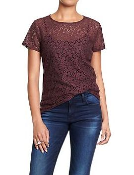 womens-lace-tees by old-navy