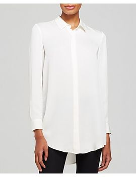 top---paulia-double-georgette-silk by theory