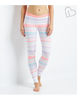 lld-fair-isle-sleep-leggings by aeropostale