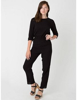 rayon-challis-jumpsuit by american-apparel