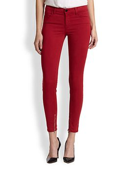 luxe-sateen-mid-rise-skinny-jeans by j-brand