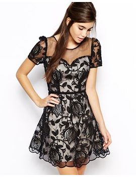 chi-chi-london-sweetheart-prom-dress-in-sheer-lace-overlay by chi-chi-london