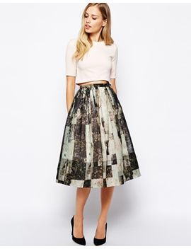 whistles-olivia-skirt-in-rock-print by whistles