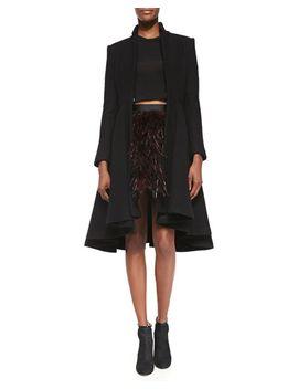 mary-arched-hem-princess-coat by alice-+-olivia