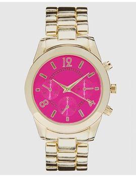 asos-colour-dial-boyfriend-watch by asos-collection