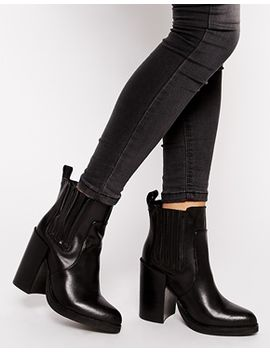 new-look-doolittle-leather-heeled-chelsea-boots by new-look