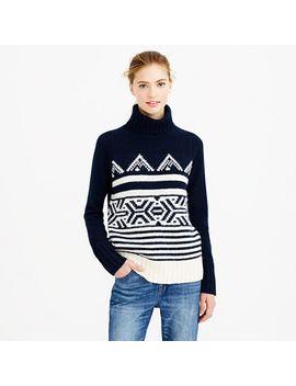 alpine-turtleneck-sweater by jcrew