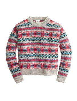 harley-of-scotland-fair-isle-sweater by jcrew
