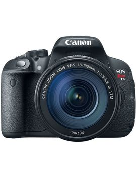 canon-eos-rebel-t5i-18-135mm-is-stm-digital-slr-camera-kit-(black) by canon