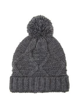 pom-pom-knit-beanie by forever-21