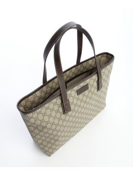 brown-and-beige-gg-plus-large-shopper-tote by gucci