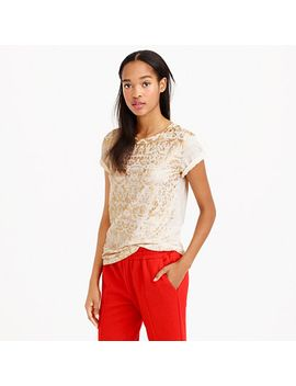 golden-ikat-t-shirt by jcrew