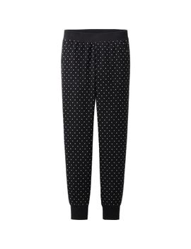 women-lounge-pants-(rib・dot) by uniqlo