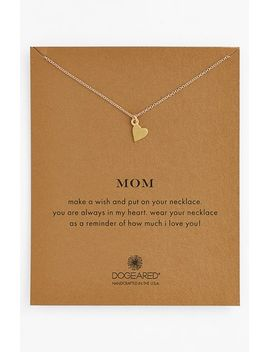 mom-pendant-necklace by dogeared