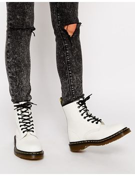 dr-martens-modern-classics-white-smooth-1460-8-eye-boots by dr-martens