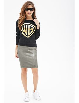 warner-bros-logo-sweatshirt by forever-21