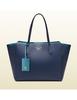 gucci-swing-medium-leather-tote by gucci