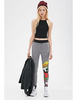 marvin-the-martian-sweatpants by forever-21