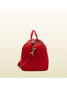 red-guccissima-leather-carry-on-duffel-bag by gucci