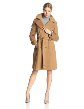anne-klein-womens-double-breasted-wool-blend-coat by anne-klein