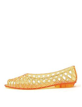 flat-lattice-jelly-sandal by american-apparel