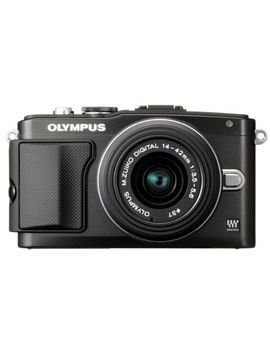 olympus-e-pl5-mirrorless-digital-camera-with-14-42mm-lens-(black) by olympus