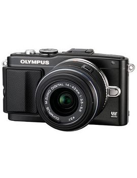 e-pl5-mirrorless-micro-four-thirds-digital-camera-with-14-42mm-f_35-56-ii-r-lens-(black) by olympus
