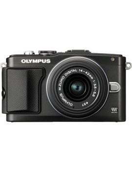 pen-e-pl5-compact-system-camera-with-14-42mm-lens---black by olympus