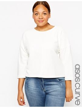 asos-curve-top-with-seam-front by asos-curve