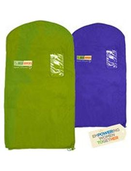 the-green-garmento-reusable-dry-cleaning-bag-set,-40-by-48-inch,-multicolor by the-green-garmento
