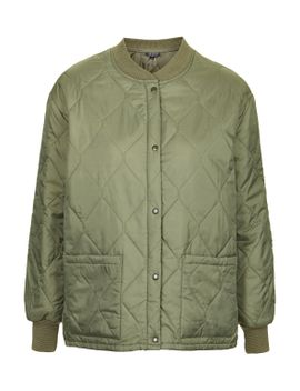 quilted-bomber-jacket by topshop