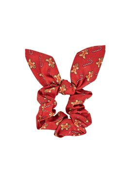 gingerbread-man-scrunchie by topshop