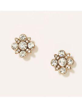 cast-crystal-cluster-stud-earrings by loft