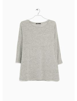 dolman-sleeve-t-shirt by mango