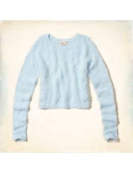 dana-strands-fuzzy-sweater by hollister
