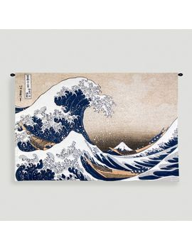 great-wave-at-kanagawa-tapestry-wall-hanging by world-market