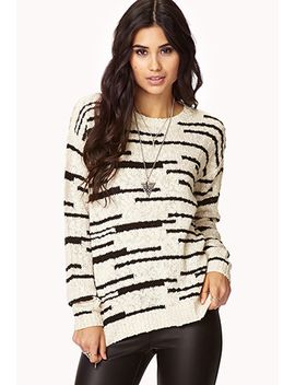 marled-open-knit-sweater by forever-21