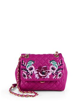 flower-embroidered-quilted-shoulder-bag by love-moschino