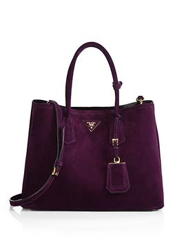 suede-double-bag by prada
