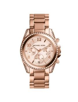 blair-rose-gold-tone-stainless-steel-chronograph-watch by michael-kors