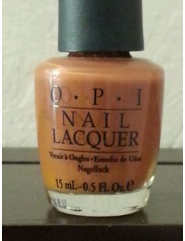 opi-nail-polish-lacquer-ginger-bells-discontinued-new by ebay-seller