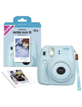 fujifilm-instax-mini-8-ins-mini-8-instant-camera-62-x-46mm-(blue) by fujifilm