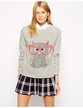 brat-&-suzie-owl-sweatshirt by brat-&-suzie