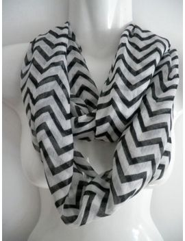 (us-seller)-womens--chevron-print-infinity-cowl-circle-light-weight-scarf-wrap by ebay-seller